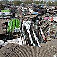 Bombay - Quartier des blanchisseurs