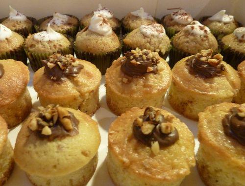 Mini-cupcakes au Nutella